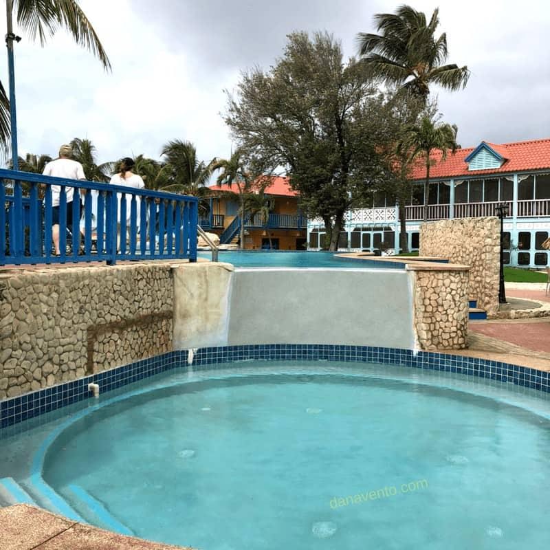 Soaking pool at Divi Flamingo Beach Resort & Casino