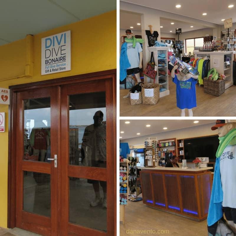 Divi Dive Bonaire Shop
