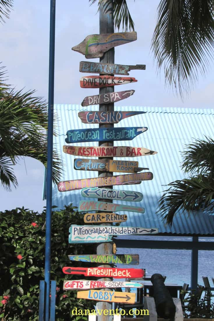 Divi Bonaire destination markers on property - What to do first?