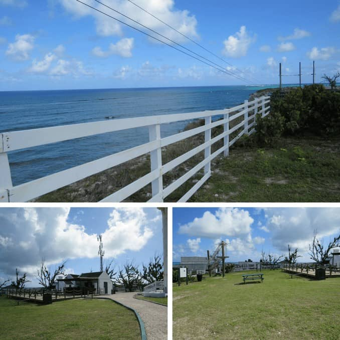 The grounds of the Grand Turks Lighthouse pay Admission to venture on them