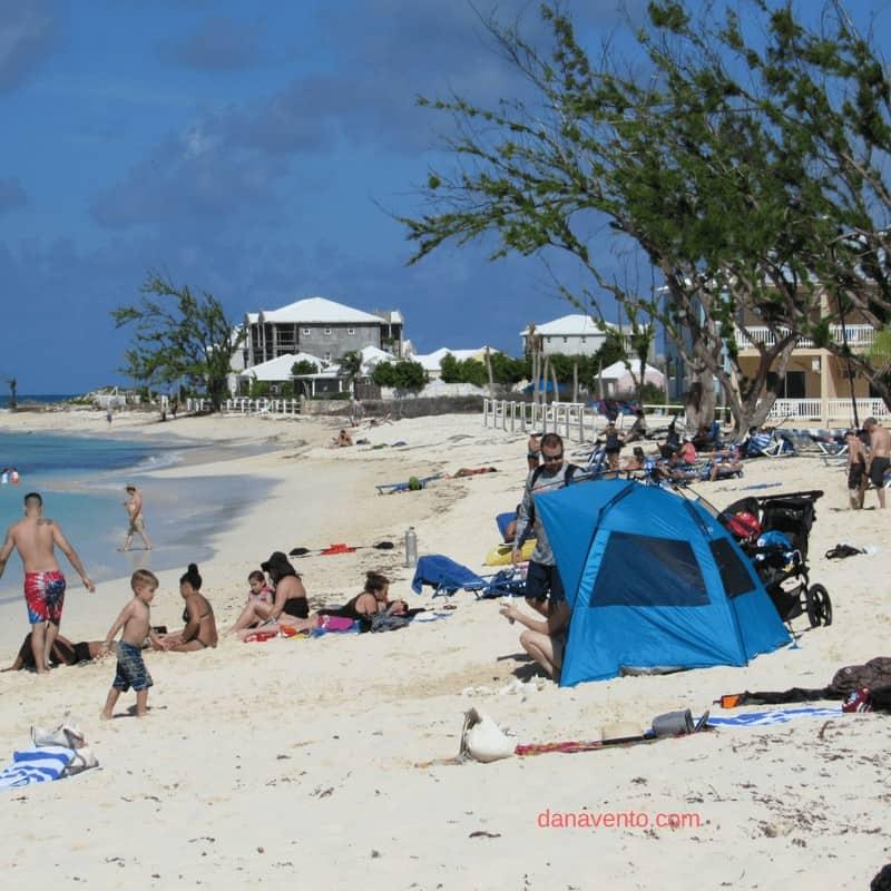 Discover Grand Turk. Cabanas at port of call