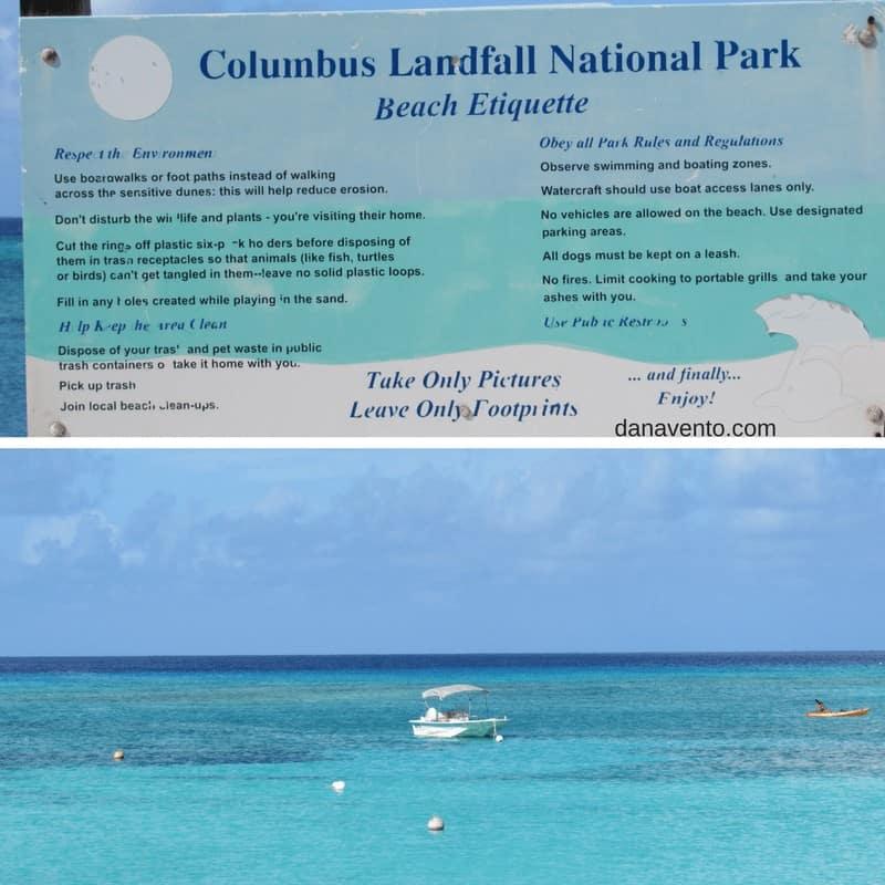 Columbus Landfall National Park. Discover Grand Turk