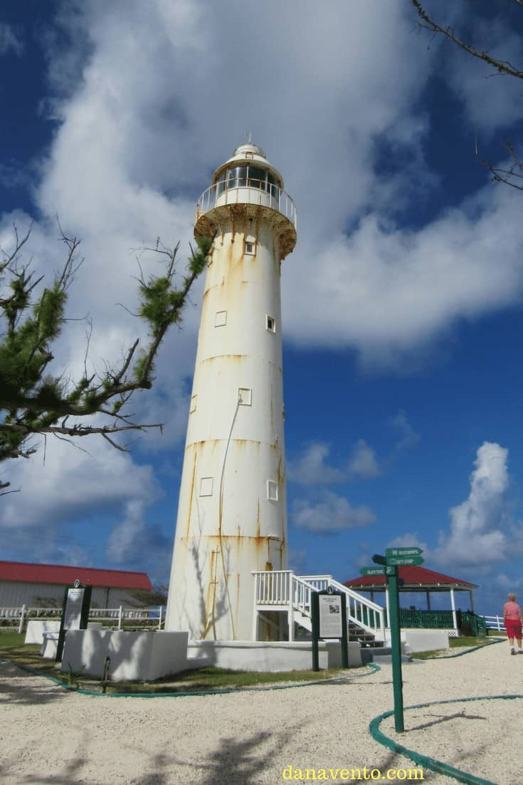 Grand Turk Lighthouse as you Discover Grand Turk