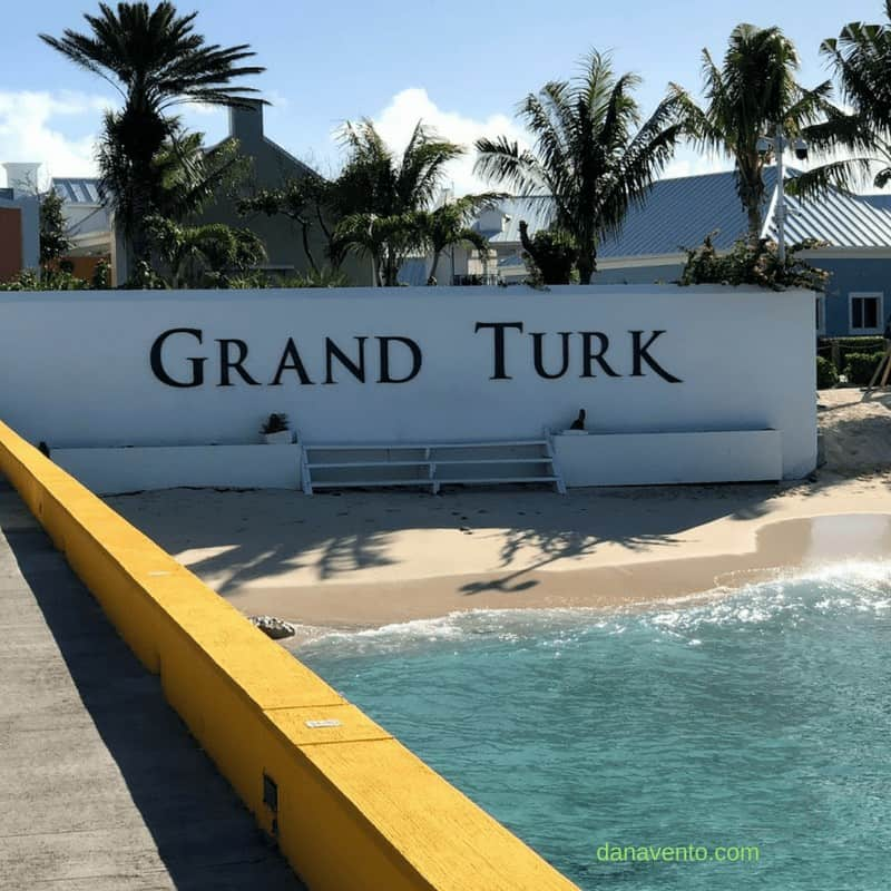 Discover Grand Turk, Port of Call sign