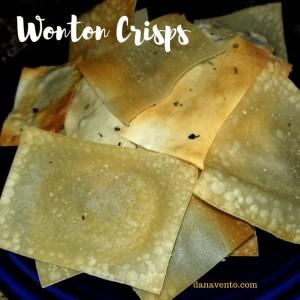 Wonton Crisps
