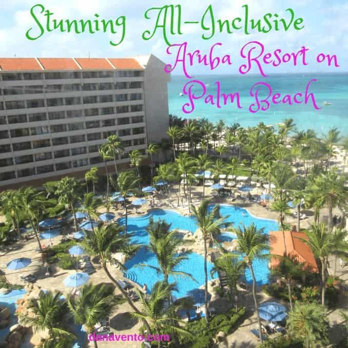 Stunning All-Inclusive Aruba Resort On Palm Beach