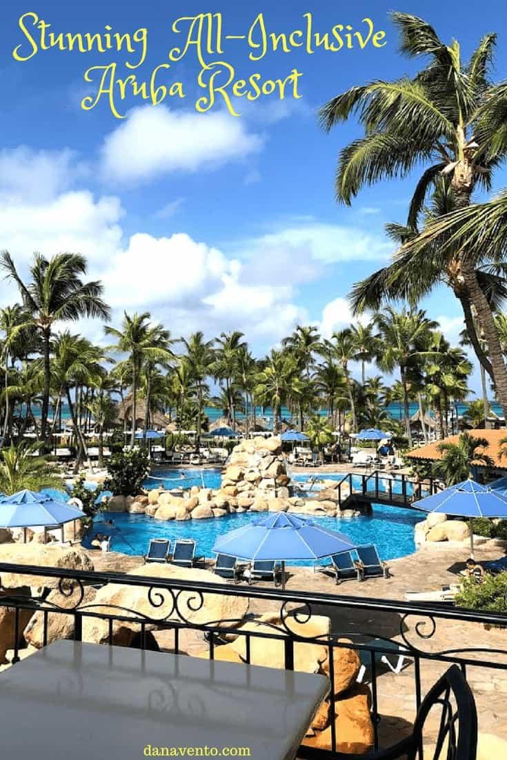 Stunning view of Barcelo Aruba on Palm Beach