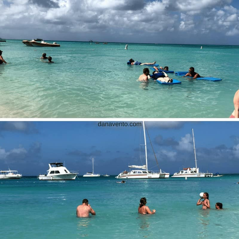 Enjoy Time In The Beautiful Blue Green Water and White Sand