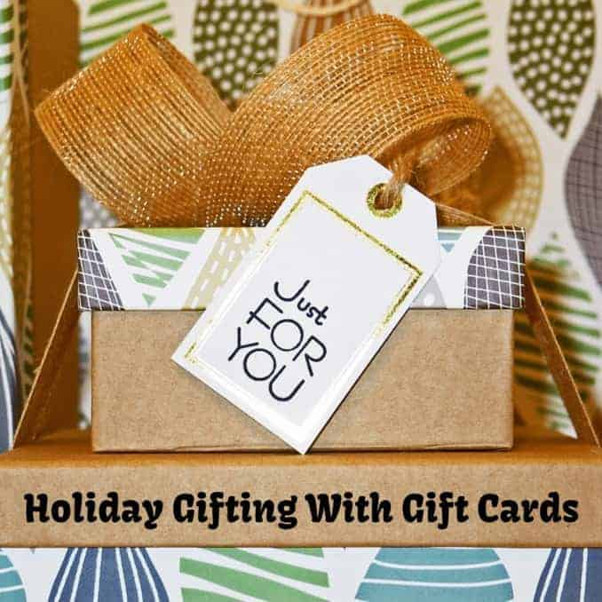 Holiday Gifting With Gift Cards