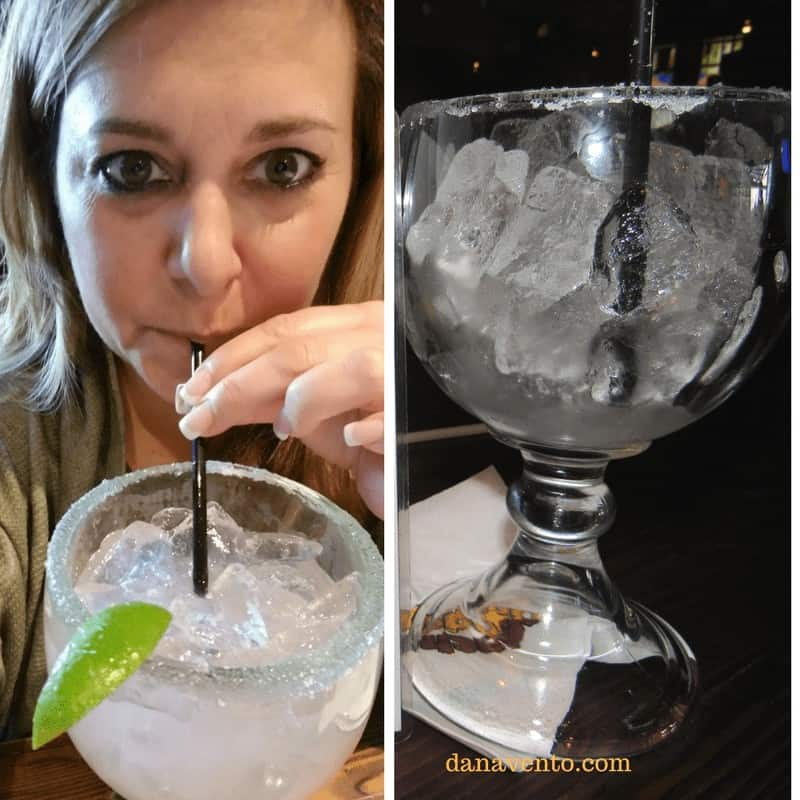 Best Vegas Margarita and Gourmet Nachos