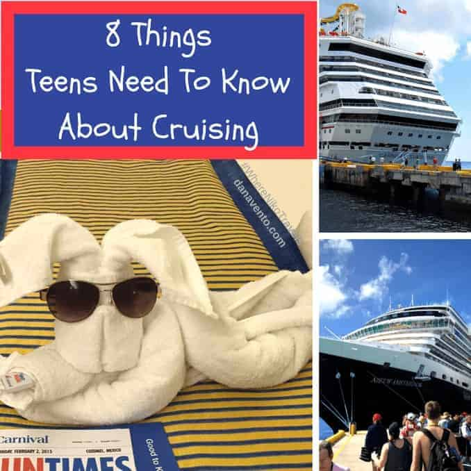 8 Things Teens Need To Know About Cruises