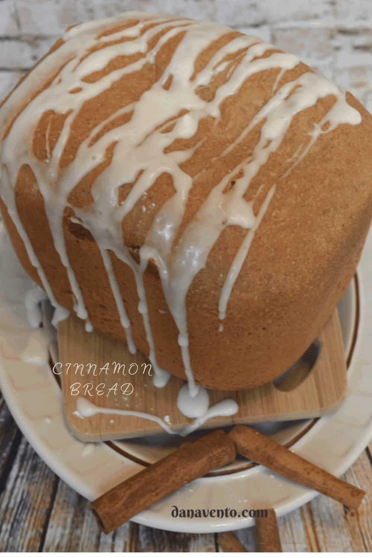 Cinnamon Bread Loaf a.k.a. beginner's easiest cinnamon bread recipe