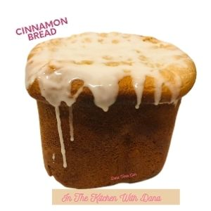Loaf oCinnamon Bread Recipe with Icing Dripping