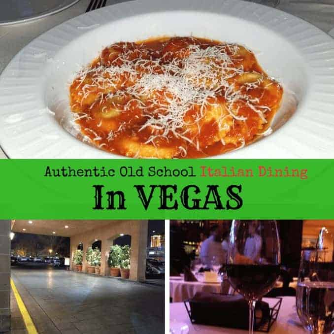 Vegas Authentic Old School Italian Dining