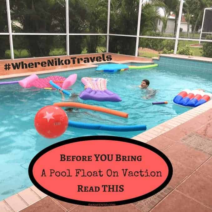 Before You Bring A Pool Float On Vacation Read This
