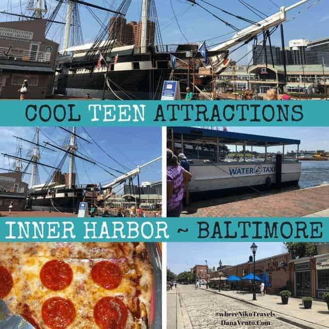 Cool Teen Attractions in Inner Harbor