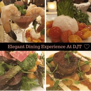 Elegant Dining at DJT in Vegas