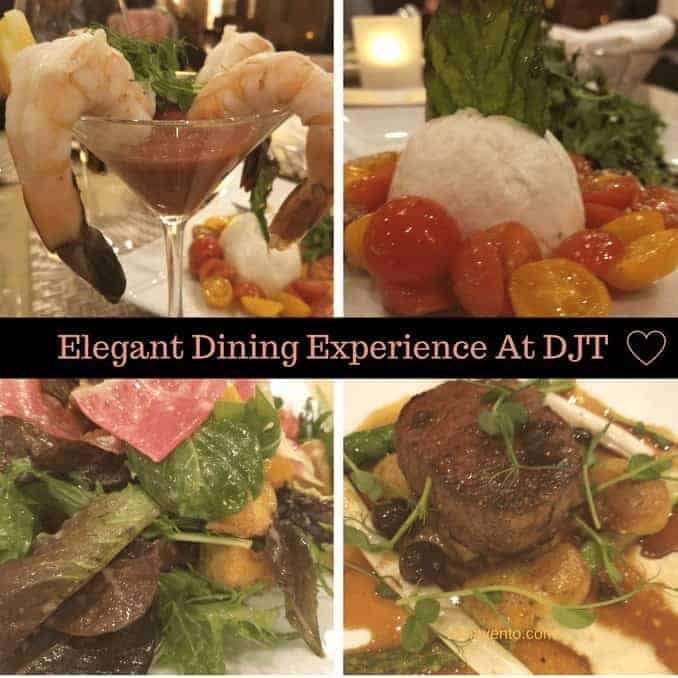 elegant dining in Vegas