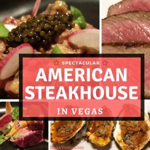 Established Yet a Hidden Gem Spectacular Vegas Steakhouse