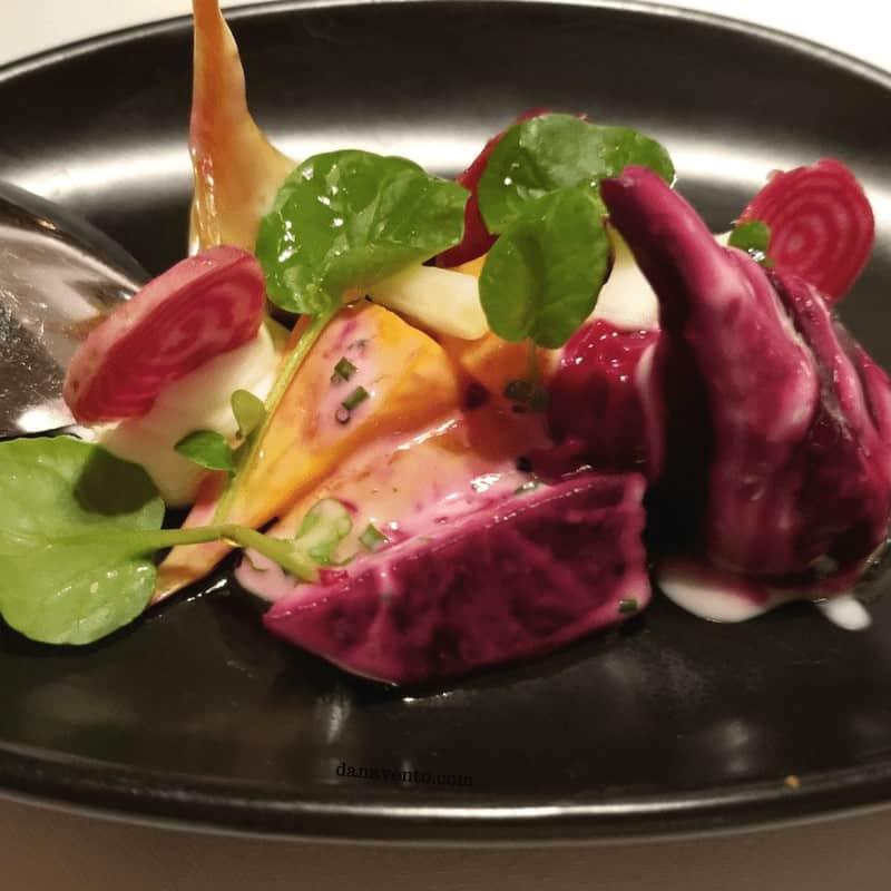 Baby beets salad. EDGE Steakhouse, Westgate Resort. VEGAS