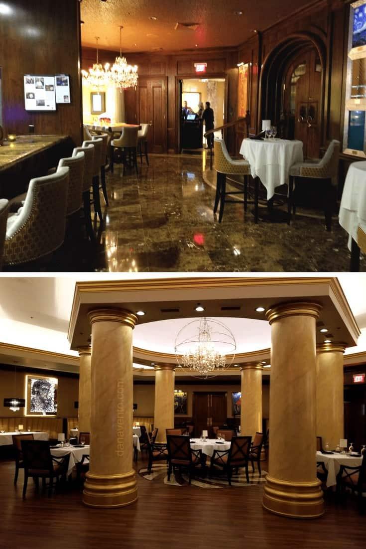 Inside the Edge Steakhouse. A.K.A. Spectaular Vegas Steakhouse
