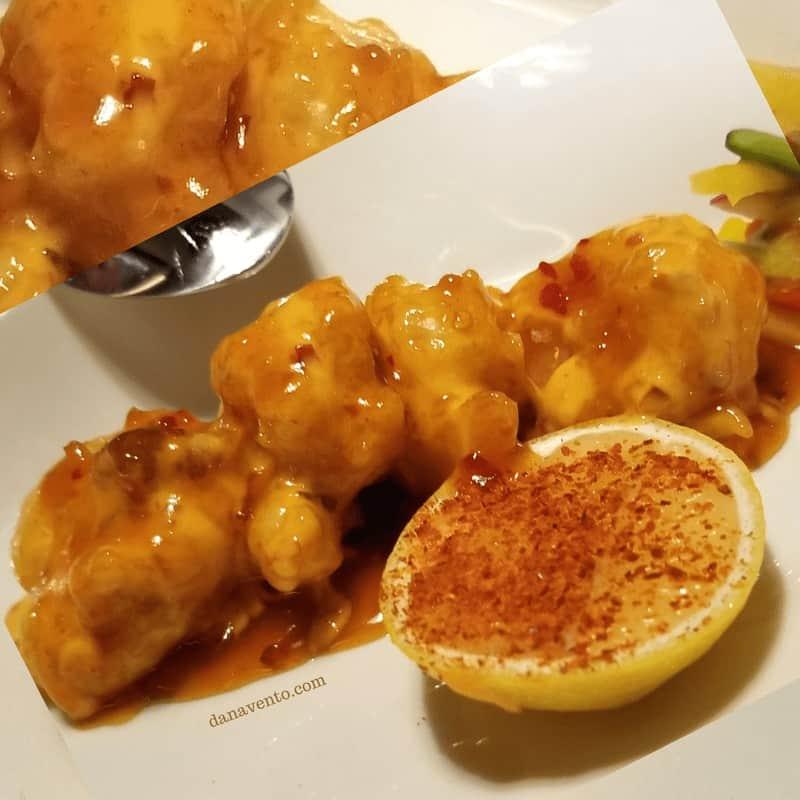 Spicy Shrimp \ Sweet Chili Sauce - Spectacular Vegas Steakhouse - The Edge