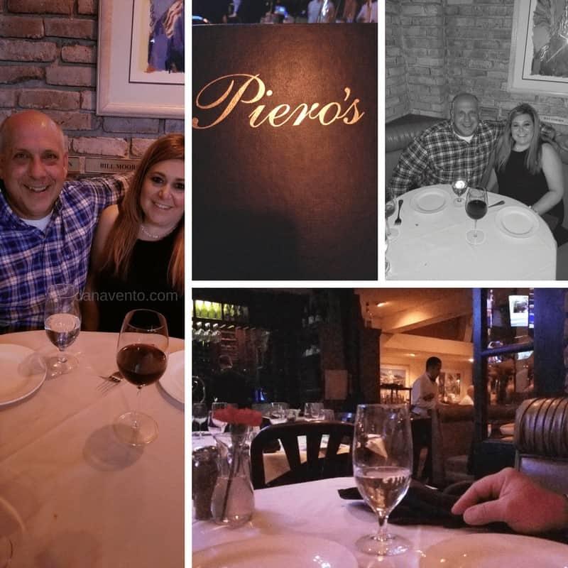 famed Piero's table. Vegas Old School Italian Dining