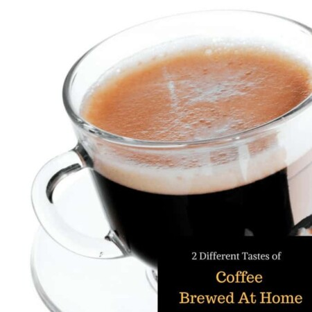 coffee, brew at home coffee, frothing, milk, easy to use, pajamas, cup of coffee, cup of java, joe, fast, easy, delicious, be your own barista, barista, brew station, 2 Different Tastes Of Coffee Brewed At Home