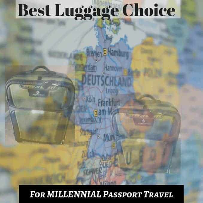 Best Luggage Choice For Millennial Passport Travel