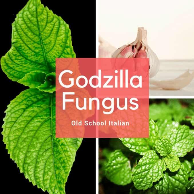 Godzilla Fungus, Greens, Garlic, Olive Oil, Mint, Recipe, Fast, easy, Old school Italian Recipe, Italian Food, Secret Recipe,