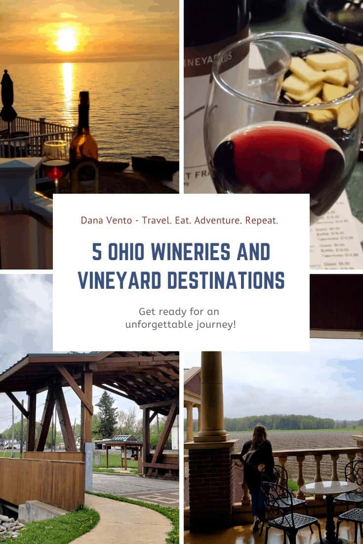 Wine Country in Ohio at  few different wineries and vineyards