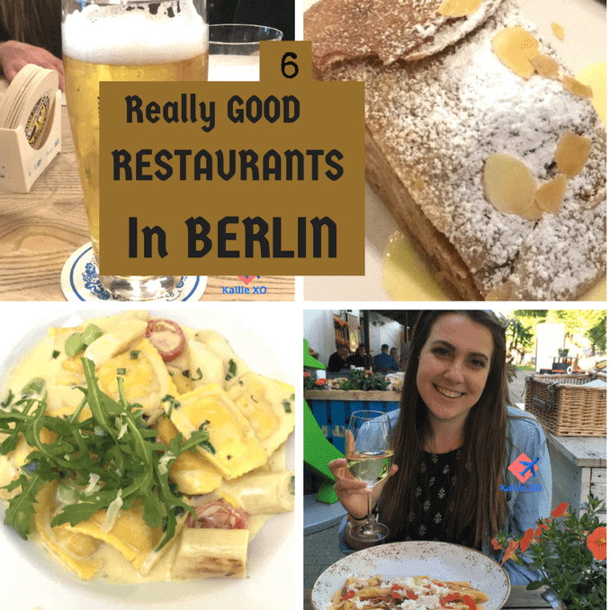 6 Really Good Berlin Restaurants, Germany, Berlin, Food, Food and Travel, Good Eats, architecture, Authentic, worldwide, gotta go, destination must, Canal, On the Water, by the water, Music, Blogger, Flying, Planes, pack your bags, Jets, journey, travel deeper, wanderlust, domestic travel, international travel, passenger, Cruise, Cruise Ship, Transportation, ports of call, destinations, traveling, couples, solo, cabin, lido deck, food, dining, dining options, traveling on a ship, cruise ship travel, ocean, high seas, services, relaxation,Travel, Traveler, Traveling, Travel and Adventure, conquer the world, globe trotting, beautiful destination, bucket list avenger, travel blog, travel blogger, travel the world, see the world, travel deeper, travel destination, single, couples, families, activities, where to, explore more, tourism, passion passport, travel blogging, travel article, where to travel, travel tips, travel envy, travel knowledge, activities, fun activities, daring activities, travel large,walking, traveling, hiking, world traveler, travel expert, see the world,raveling, Travel and Adventure, conquer the world, globe trotting, beautiful destination, bucket list avenger, travel blog, travel blogger, travel the world, see the world, travel deeper, travel destination, single, couples, families, activities, where to, explore more, tourism, passion passport, travel blogging, travel article, where to travel, travel tips, travel envy, travel knowledge, activities, fun activities, daring activities, travel large, Car travel, travel by car, travel by vehicle, auto travel, traveling together, diy, packing, travel packing, travel tips, travel advice, travel essentials, toss these in, luggage, packing, more travel fun, travel and adventures, family adventure time, couple, Zille-Stube, Palm Beach, Augustiner, Solinos, chicken, paprika, Asparagus season, sauces, creams, foodie in berlin, Foodie In Germany, Twenty Something, College Travel, Travel in College, Kallie XO, Palm Beach at AlexanderPlatz, SOLINO, Augustiner, AMPELMANN restaurant, WEYERS Restaurant, Outdoor dining, Ravioli, White asparagus, Mint Tea, Al fresco, casual