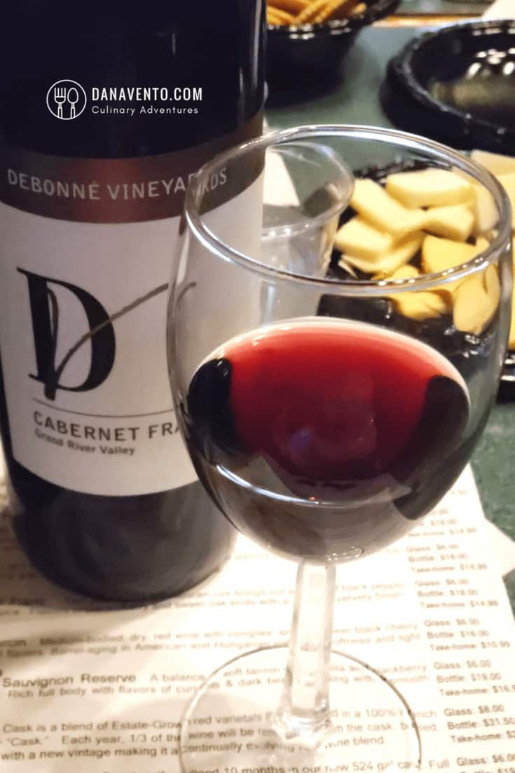 Wine Country in Ohio at Debonne's Vineyards and Cabernet France