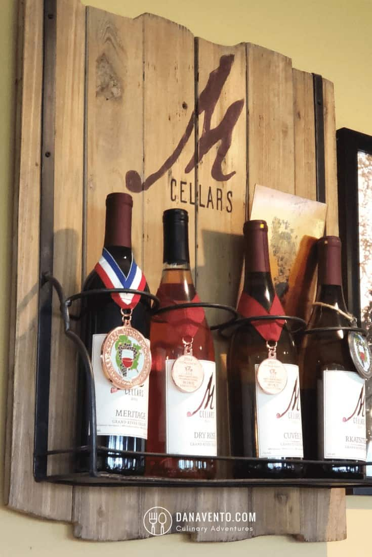 Award Winning Wine Country in Ohio wines at M Cellar