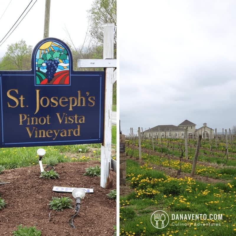 St. Joseph's Vineyard. Wine Country in Ohio