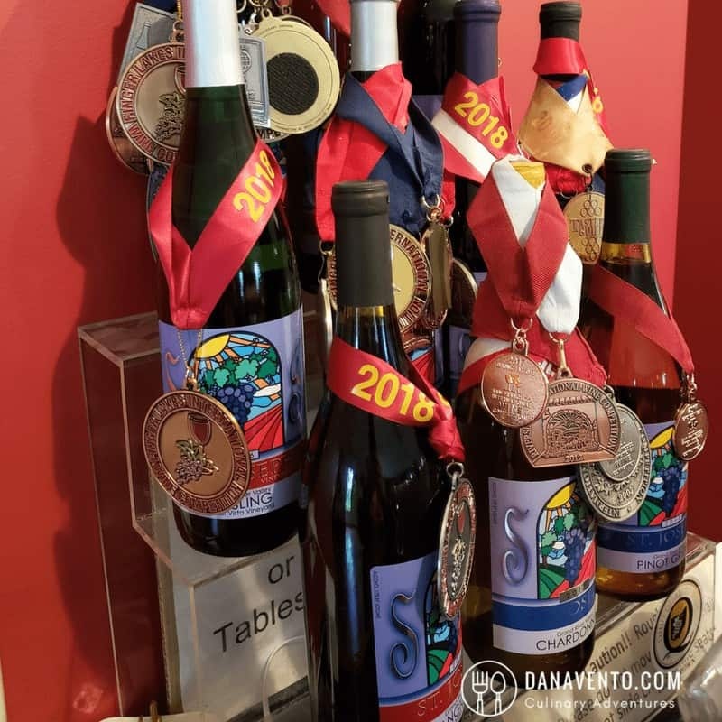 Wine Country in Ohio awards for St. Joseph's Vineyard