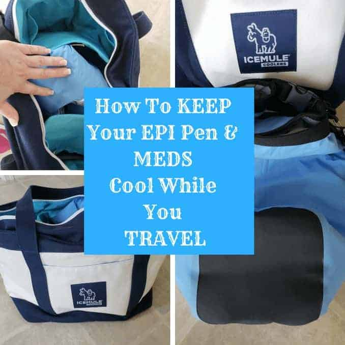 Keep Your Epi Pen and Meds Cooled Off While Traveling