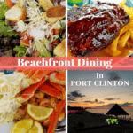 Beachfront Dining In Port Clinton With Awesome Eats
