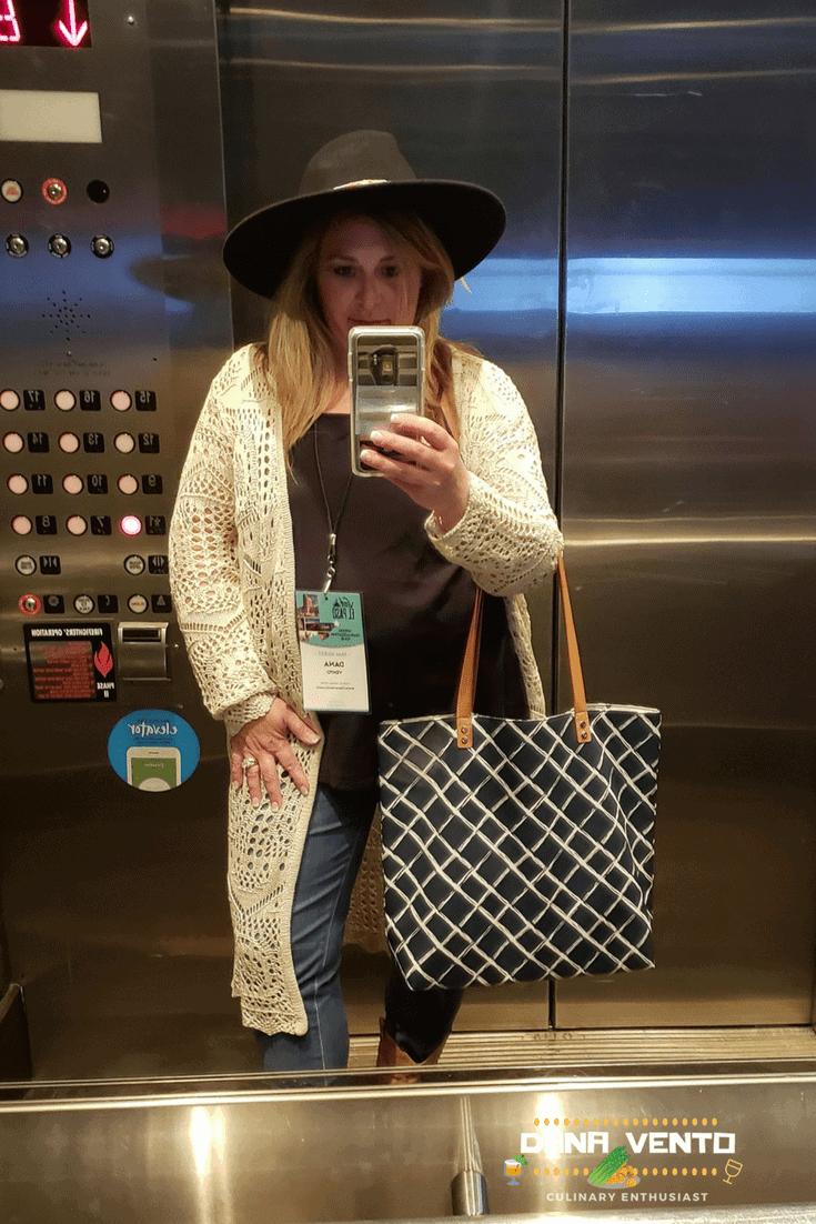 Dana Vento in Cowboy Hat in El Paso, Texas