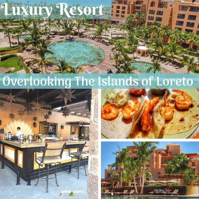 Luxury Resort Overlooking The Islands Of Loreto