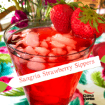 Sangria Strawberry Sippers
