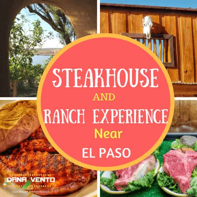 Amazing Steakhouse Near El Paso. steak cooked and uncooked, ranch photo