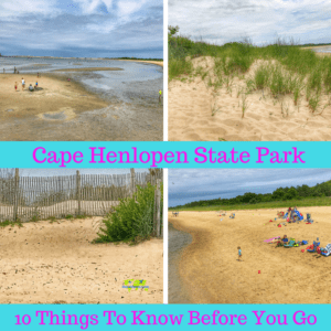 Cape Henlopen State Park. Read Before you Go!