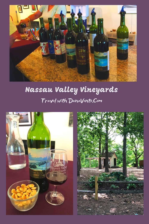 Nassau Valley Vineyards wine tasting