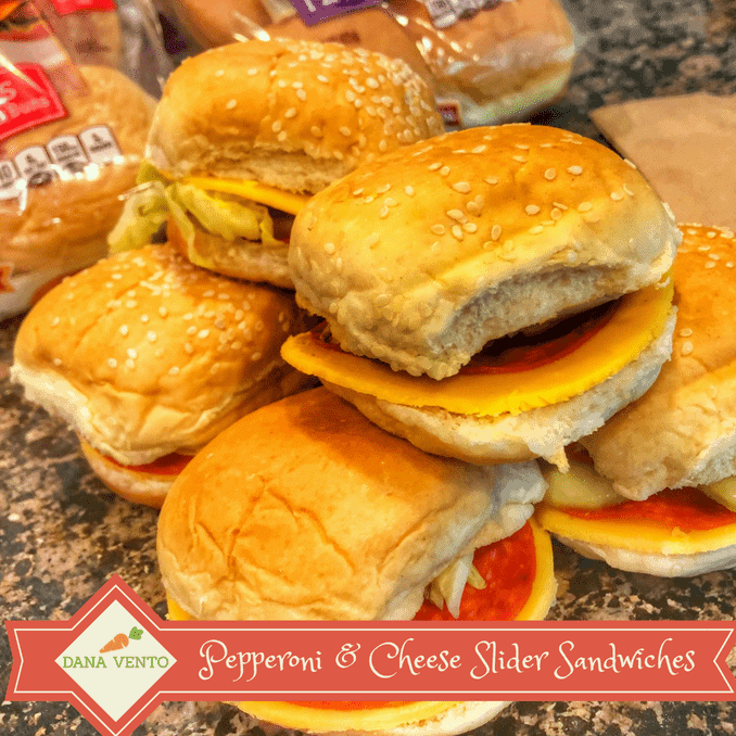 Pepperoni and Cheese Slider Sandwiches, Pepperoni, Cheese, Salad, Buns, Sliders, Minis, easy to make, lunchbox, Linqia, Pepperidge Farm Slider Buns,Pepperidge Farm Buns, buns, slider buns, easy school lunch recipes, back to school lunches, kid lunch inspiration, school lunches, back to school lunches, recipes for picky eaters, recipes, recipe, food, school recipes, lunch recipe, fast recipe, easy to recreate recipe, no cooking, preparation, sesame seed buns, potato buns, wide variety of flavors, foodies, school food, lunch box fast