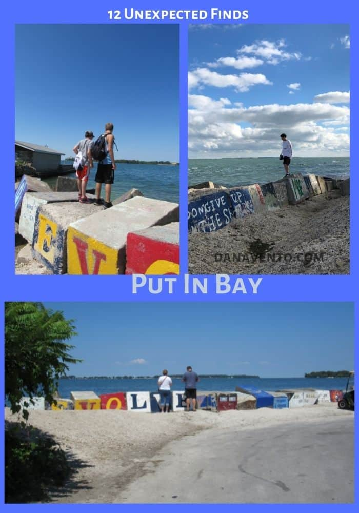 14 unexpected Finds in Put In Bay Graffiti Rocks Multiple Scenes