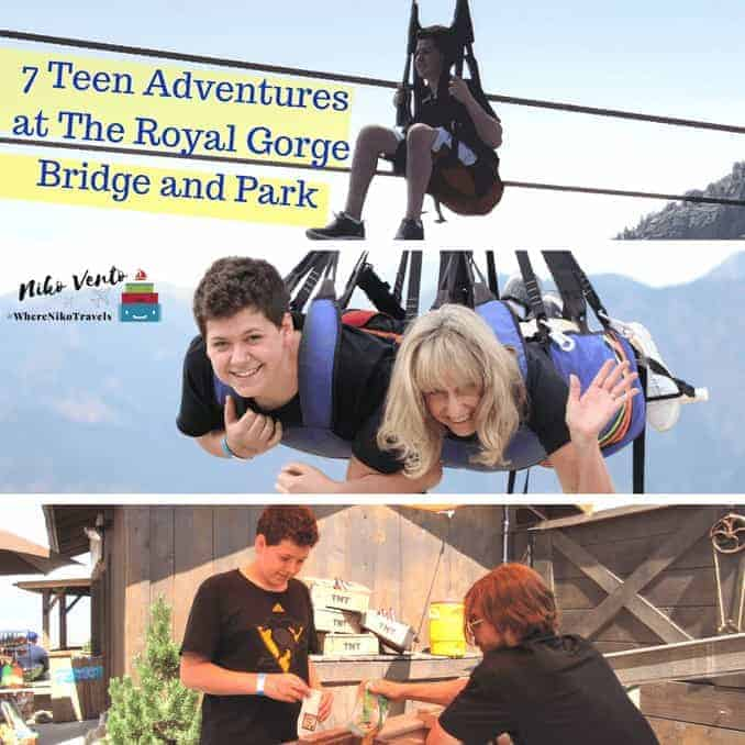 7 Teen Adventures at The Royal Gorge Bridge and Park