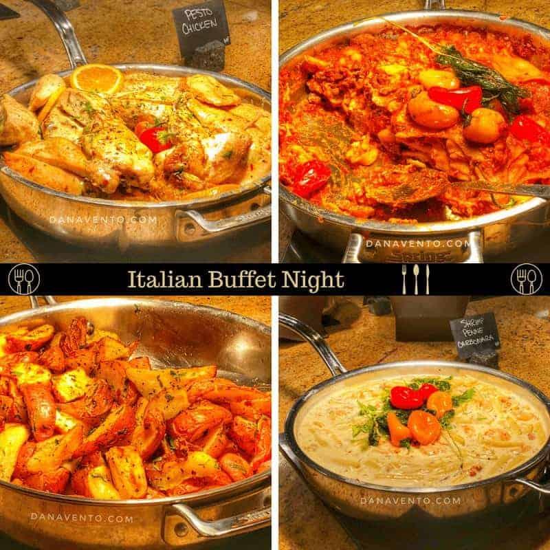 Family Friendly Resort Loaded With Amenities In Colorado Springs Italian Buffet Night