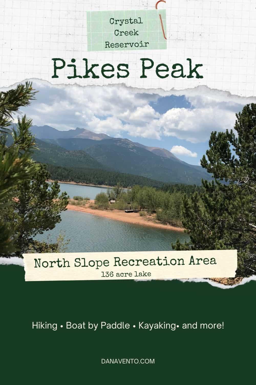 Crystal Creek Reservoir Pikes Peak