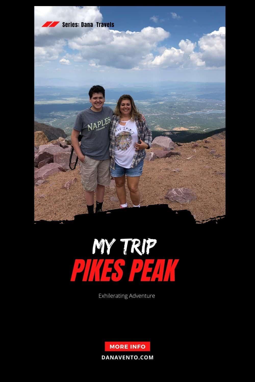 Niko Dana Pikes Peak Summit